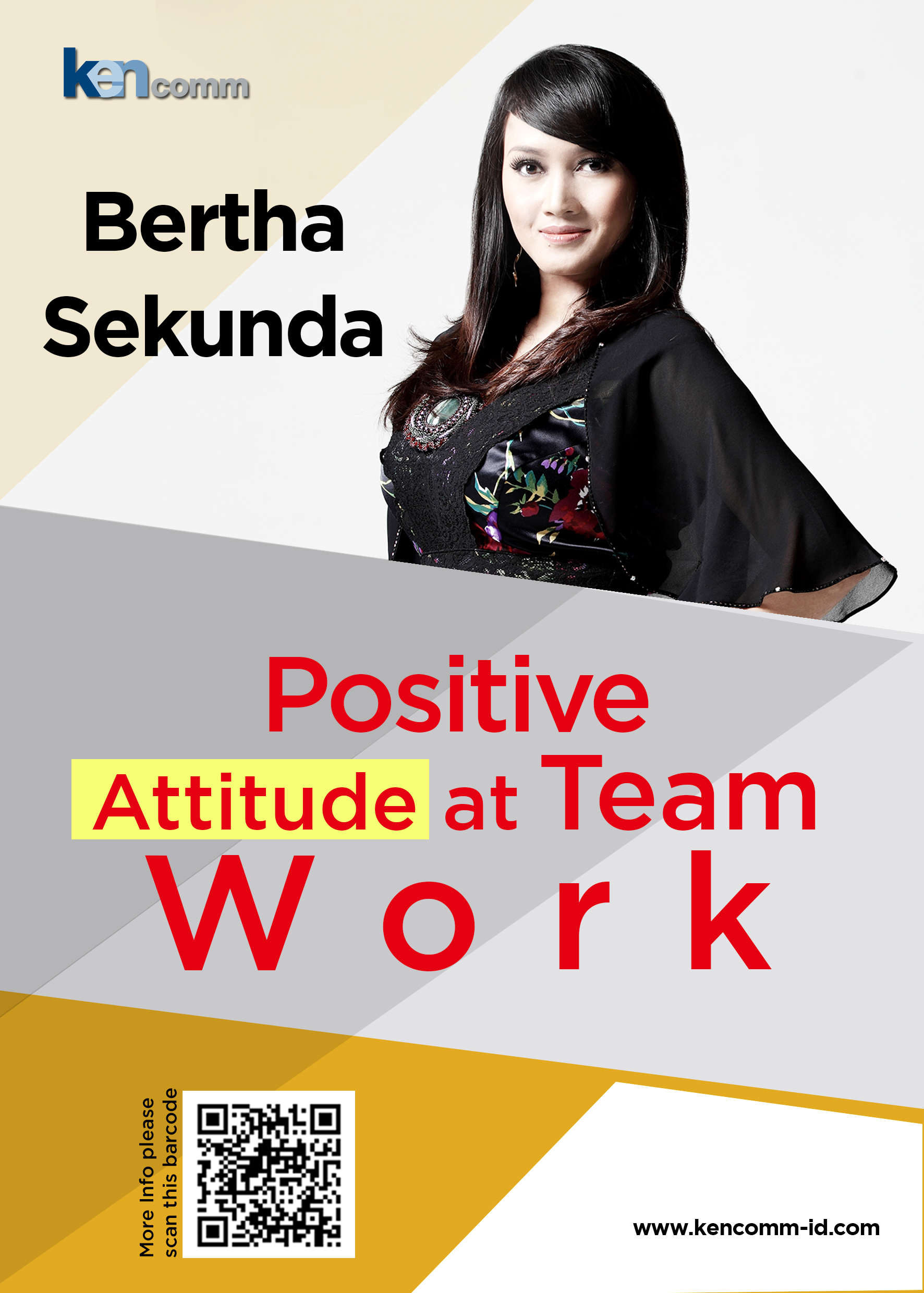 positive attitude at team work-Bertha