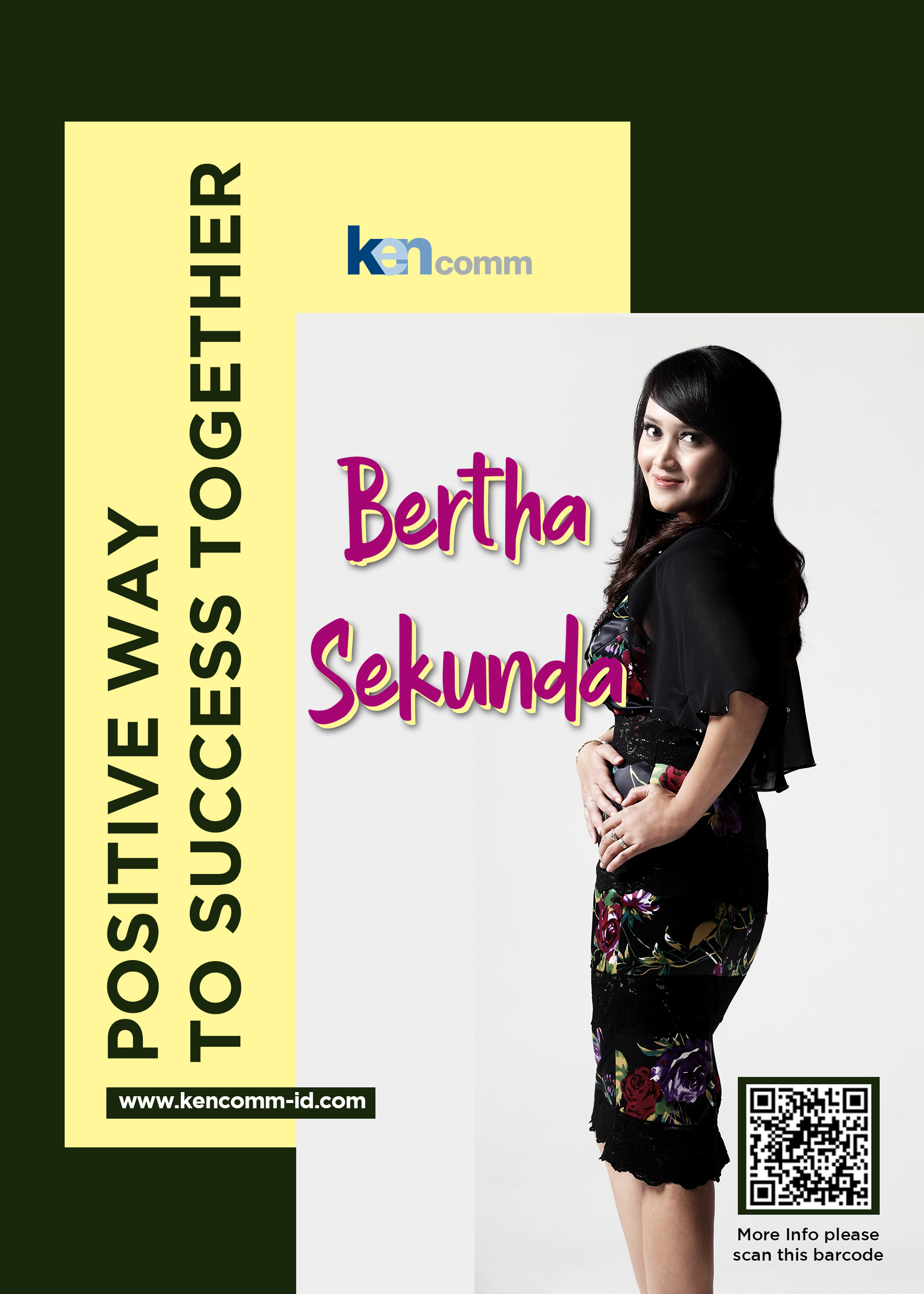 positive way to success together-Bertha